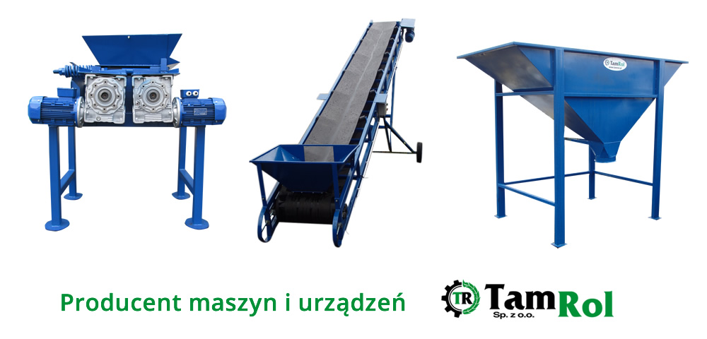Producent maszyn i urządzeń dla składów węglowych